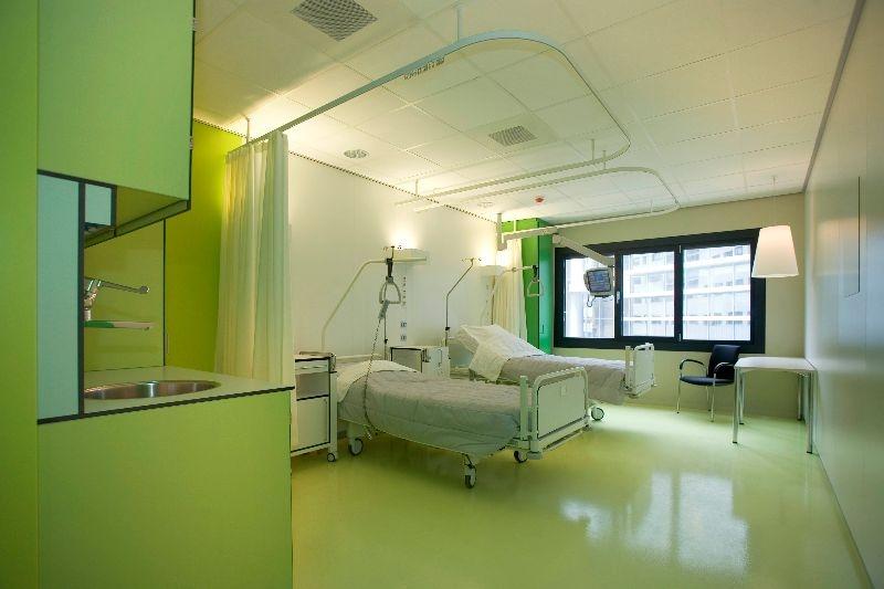 ziekenhuis separatierail